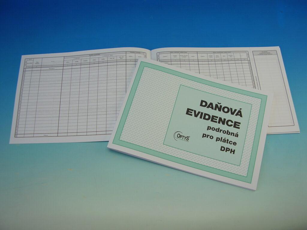 Evidence daňová podrobná pro plátce DPH /OP1023/