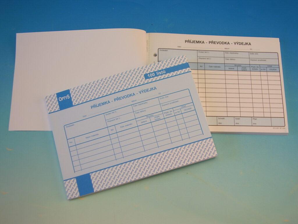 Převodka příjemka-výdejka A5 /OP1042/