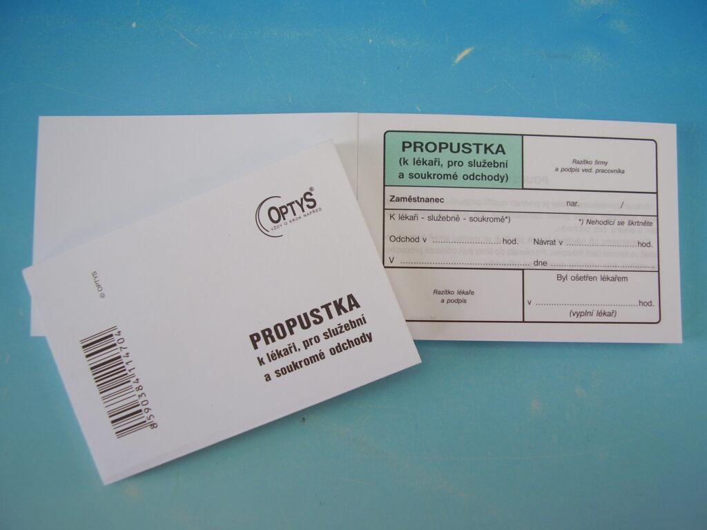 Propustka A7 /OP1147/