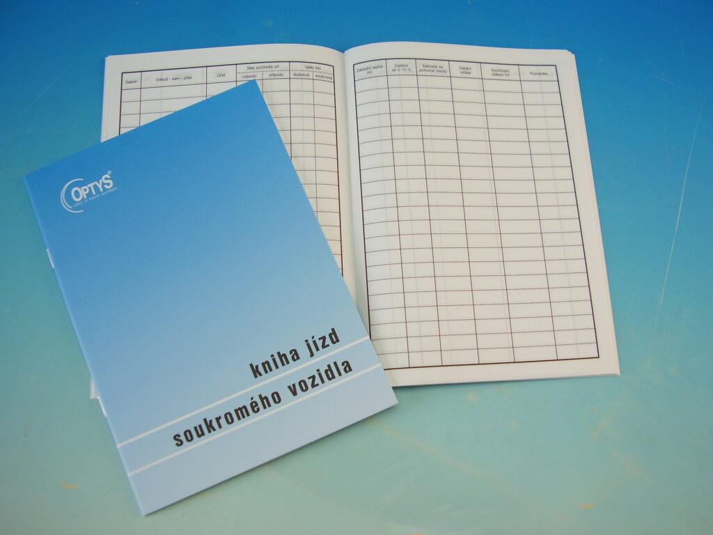 Kniha jízd soukr.vozidla A5 /OP1169/