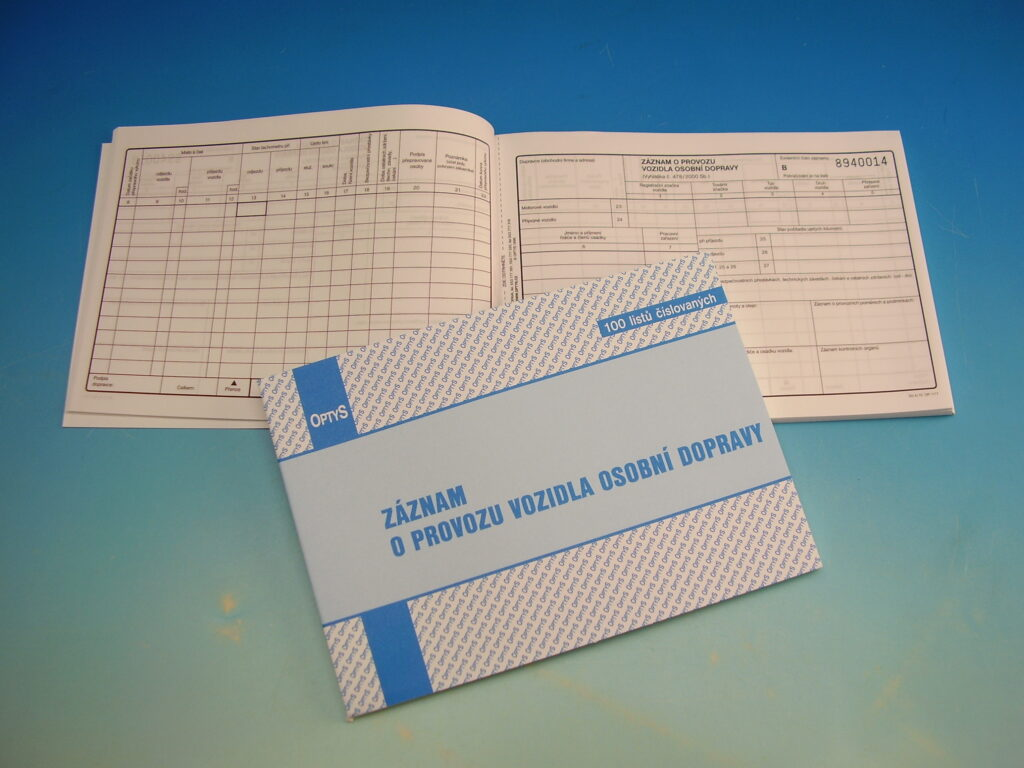 Záznam o prov.os.dopravy A5 čísl. /OP1177/