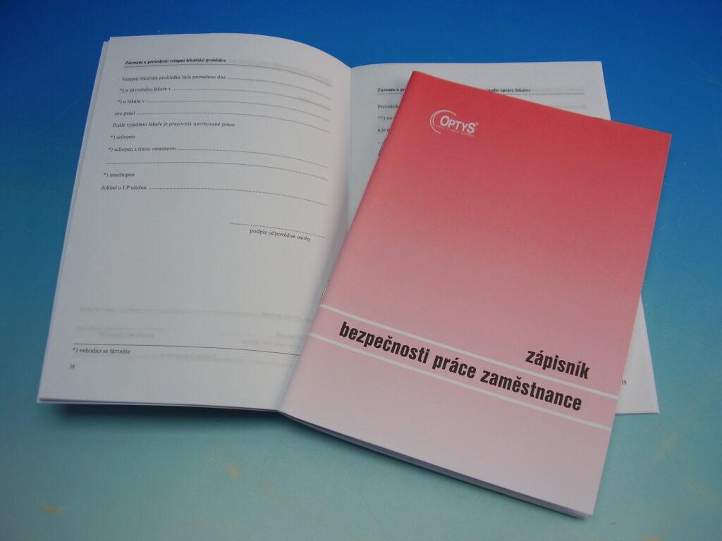 Zápisník bezpečnosti práce A5 /OP1221/