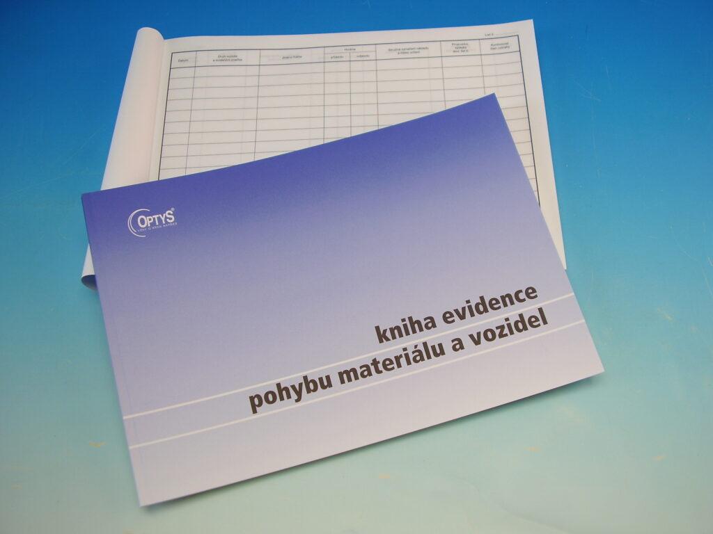 Kniha ev.pohybu mater. A4 /OP1244/