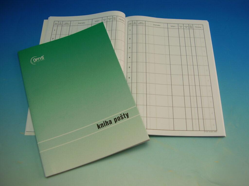 Kniha pošty brožovaná A4 /OP1270/