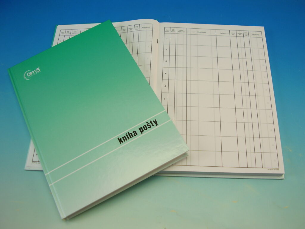 Kniha pošty LAMINO A4 /OP1286/