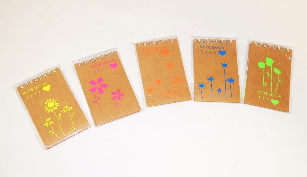 Notes kroužkový 12,5x8cm, 38listů / W007163