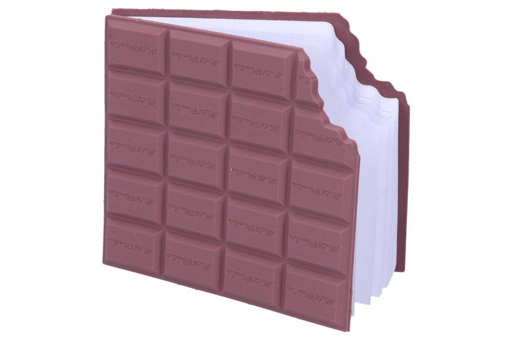 Notes čokoláda 9,8*8,5 cm /885813/