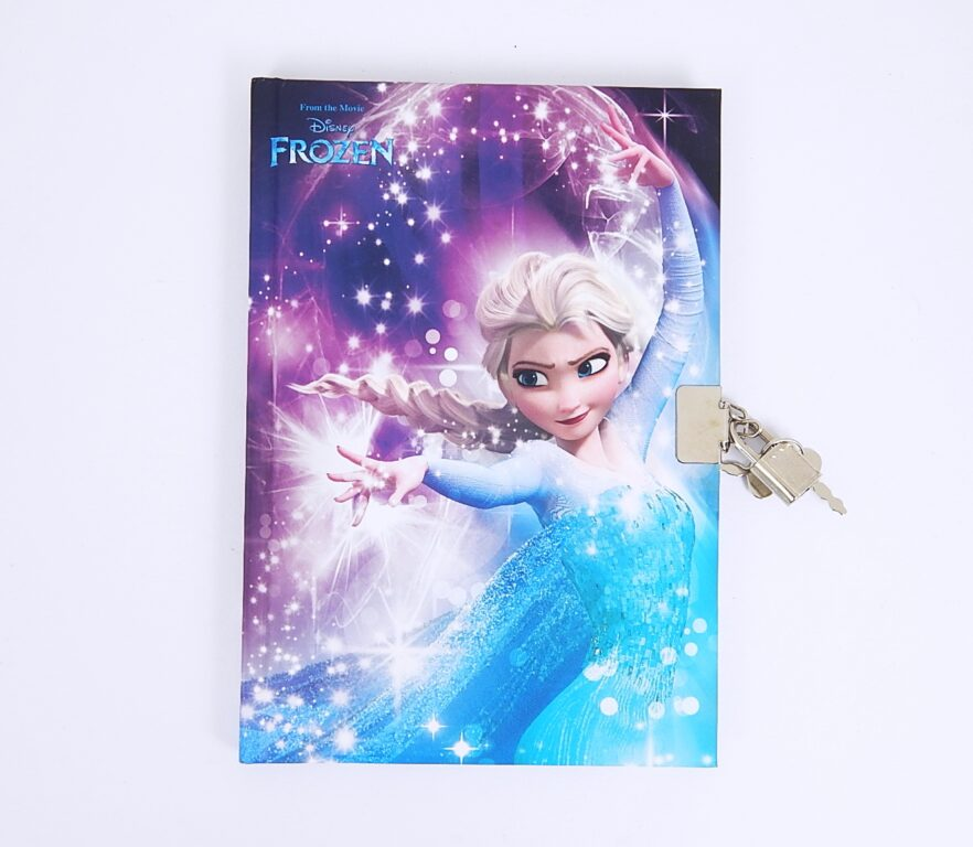 Památník A5 Frozen Elsa Blur se zámkem /16372114/