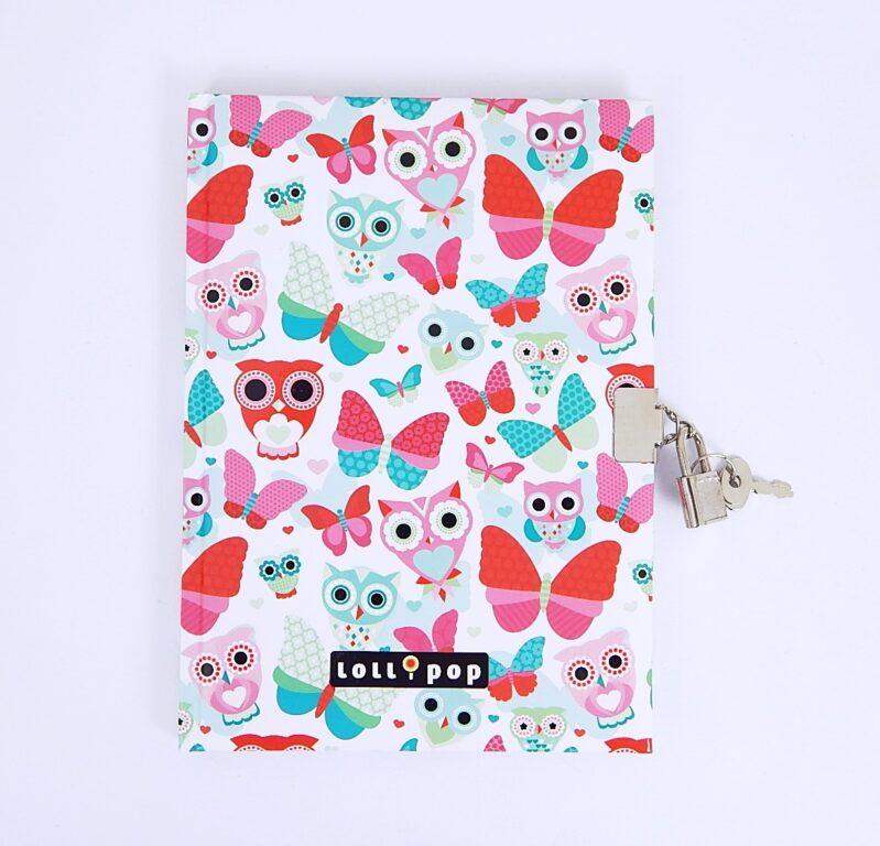 Památník A5 Lollipop Butterfly se zámkem /16295615/
