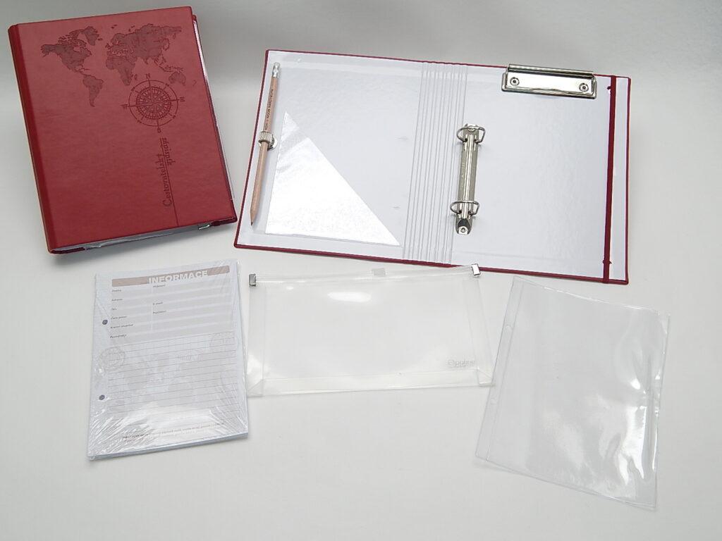 Zápisník cestovatelský BU036 3 - Vivella - bordó