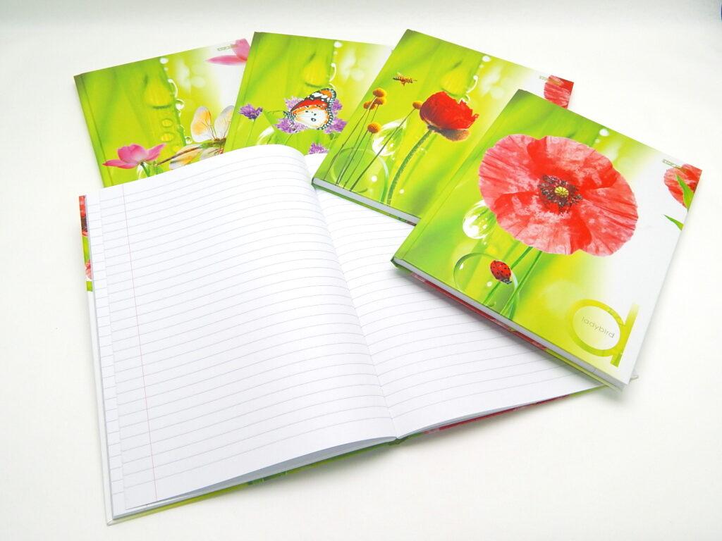 Kniha záznamní A4 linka 96l Inspiration