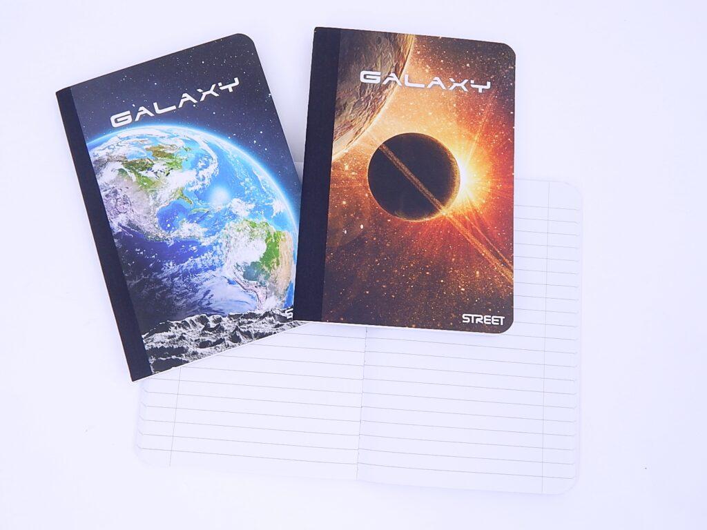 Kniha záznamní A5/60l Galaxy linka