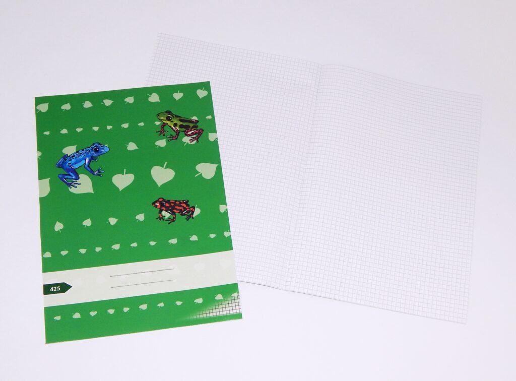 Sešit 425 Premium Natura A4 čtvereček 20l