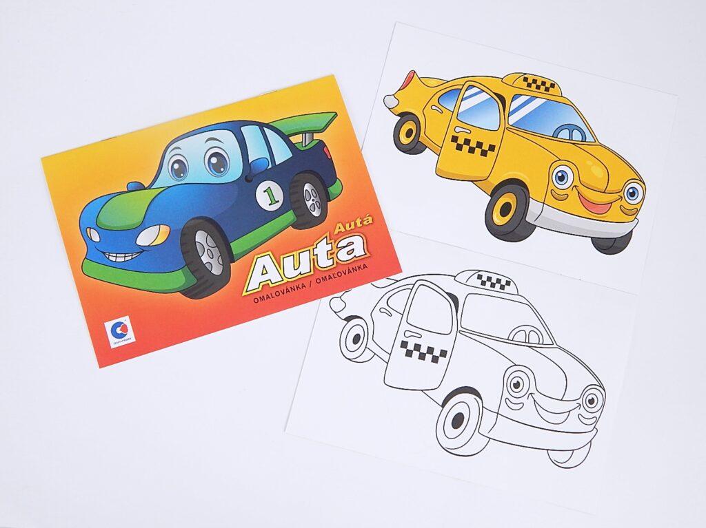 Omalovánky A5 Auta /BO436/