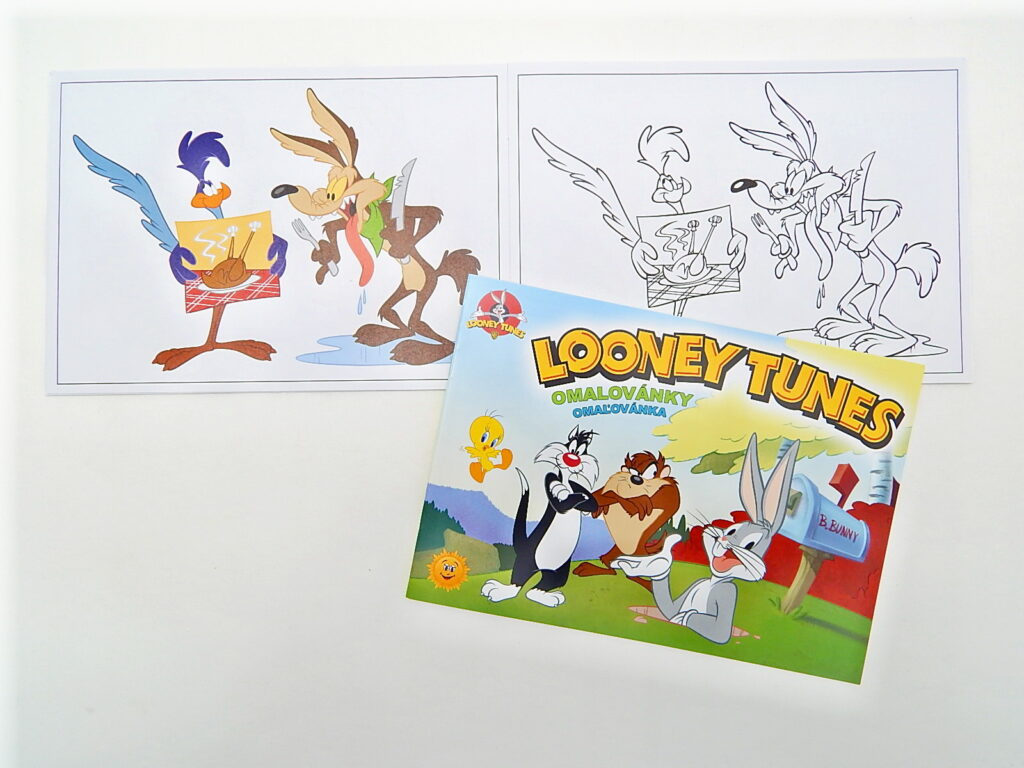 Omalovánky A5 Looney Tunes 5300810