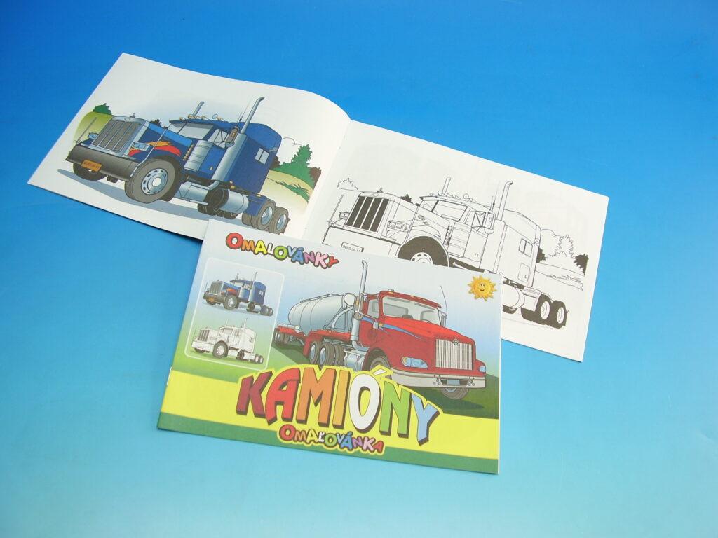 Omalovánky A5 Kamiony /27/