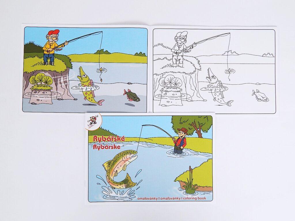 Omalovánky A5 Rybářské