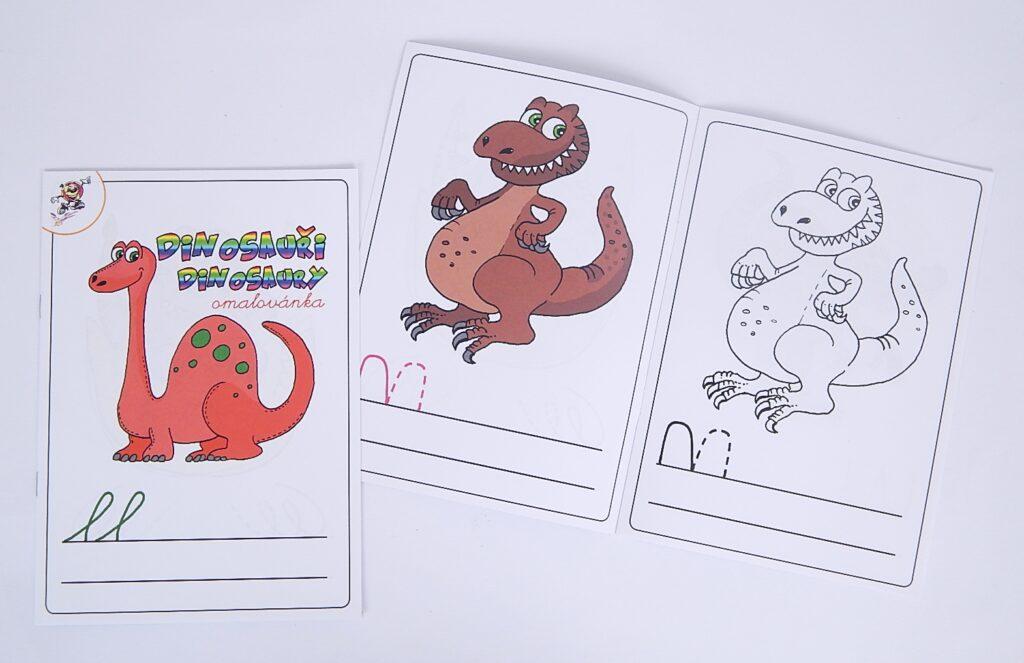 Omalovánky A5 Dinosauři/ PO2231MIK