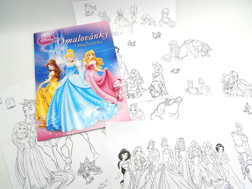 Omalovánky A4 Princess 5300758