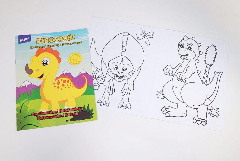 Omalovánky A4 Dinosauři / 5301005