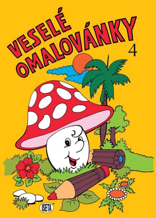 Omalovánky A4 Veselé omalovánky /04/