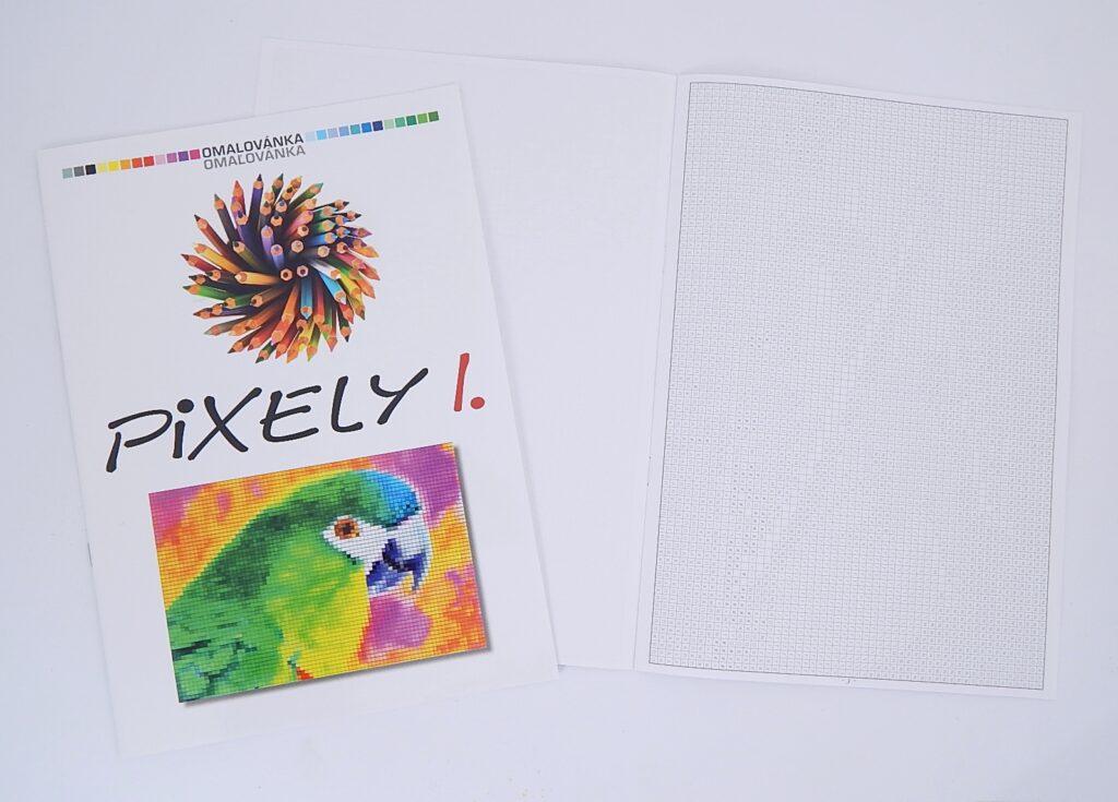 Omalovánky A4 Pixely I. /BO745/