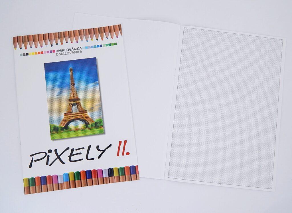 Omalovánky A4 Pixely II. /BO746/