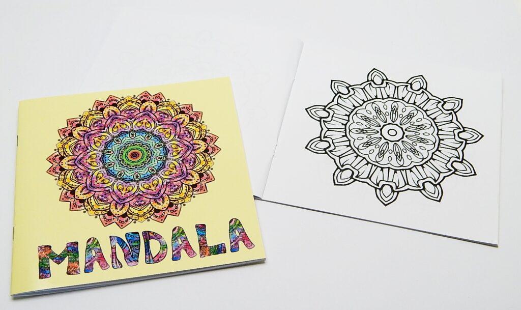 Omalovánky Mandala žlutá