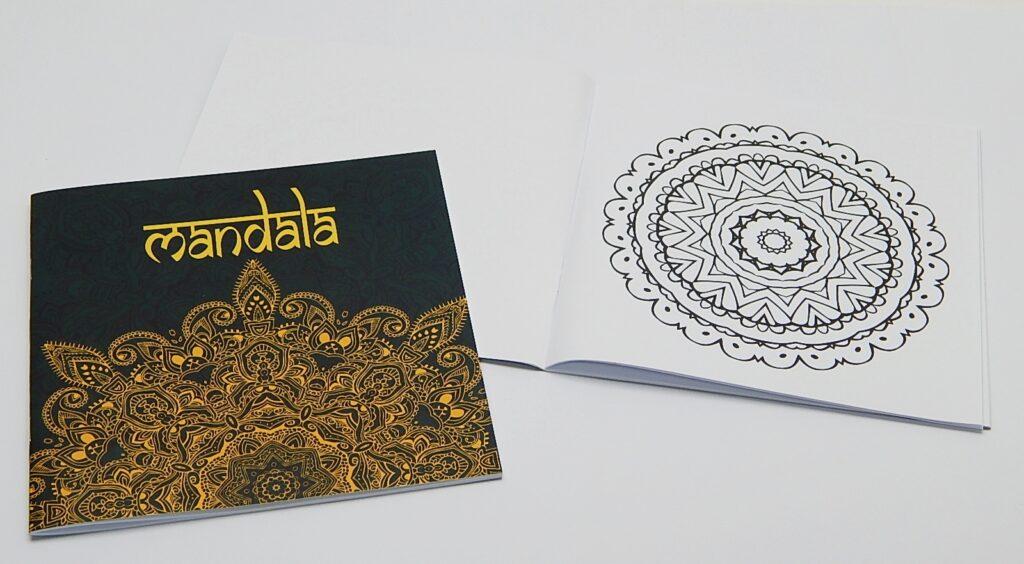 Omalovánky Mandala zlatá