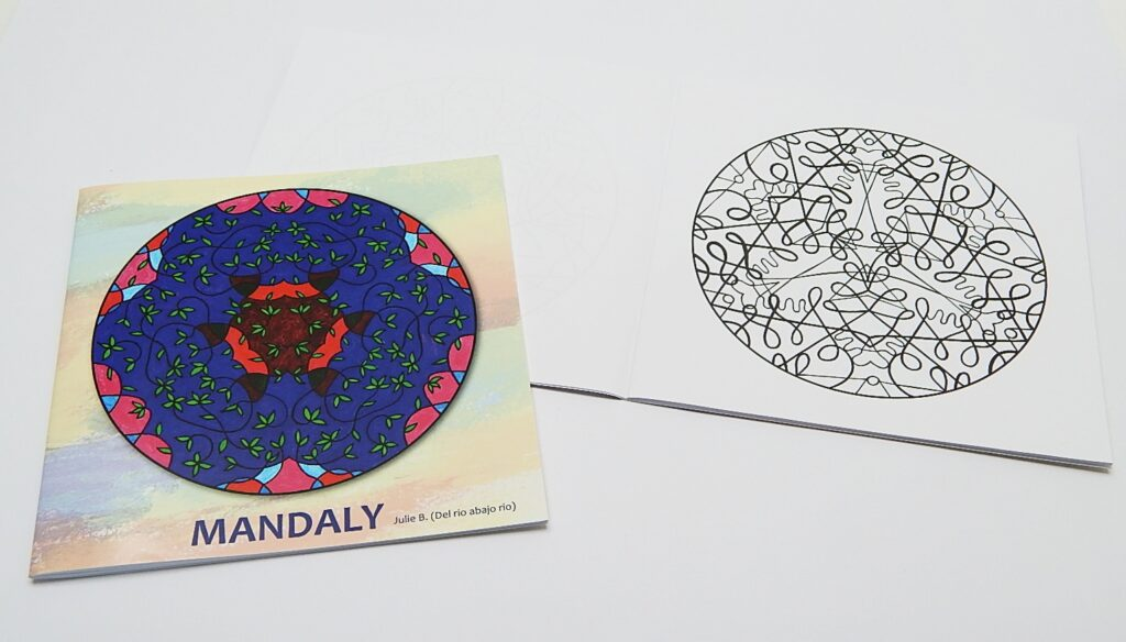 Omalovánky Mandala č.0
