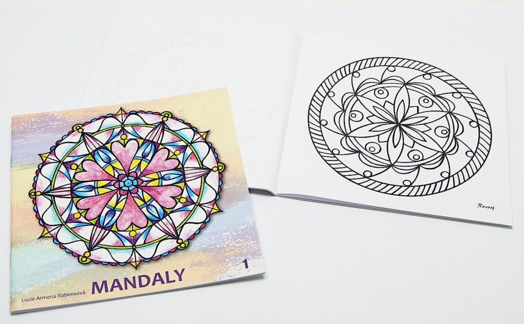 Omalovánky Mandala č.1