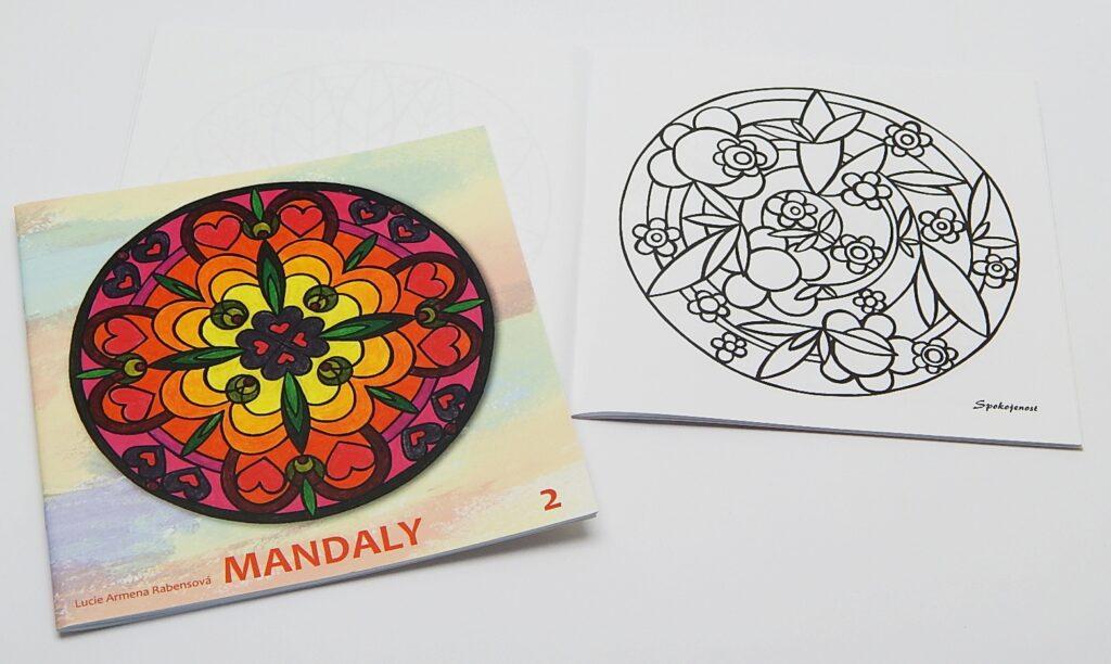 Omalovánky Mandala č.2