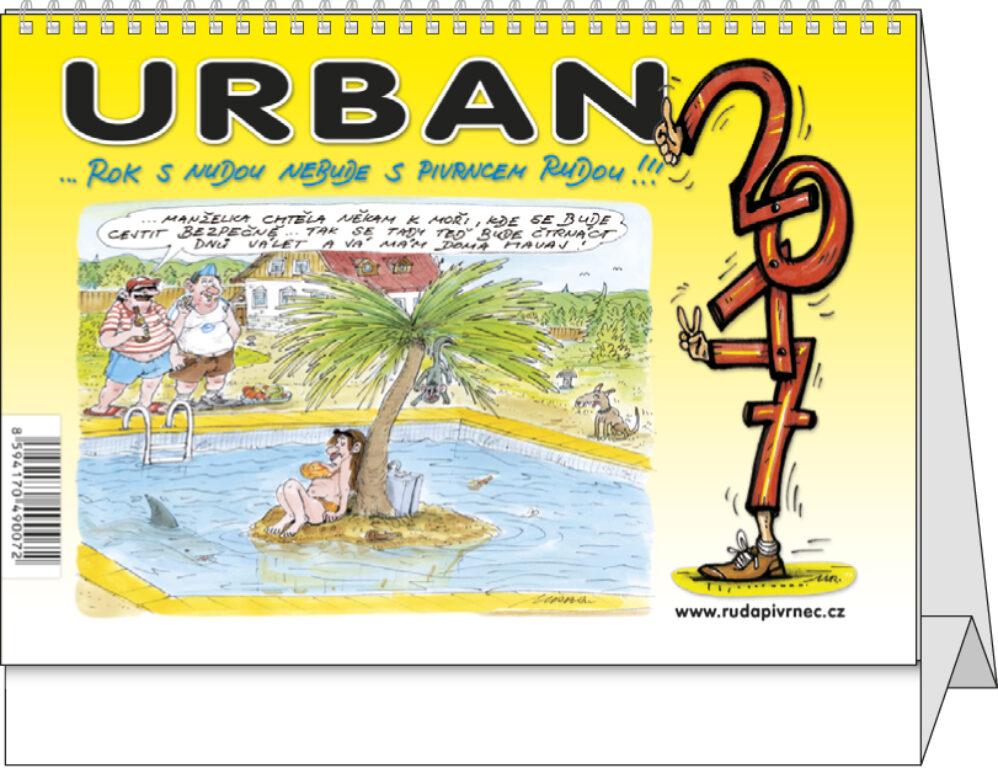 SN20 Urban.. Rok s nudou nebude s Pivrncem Rudou!!! stolní 2017