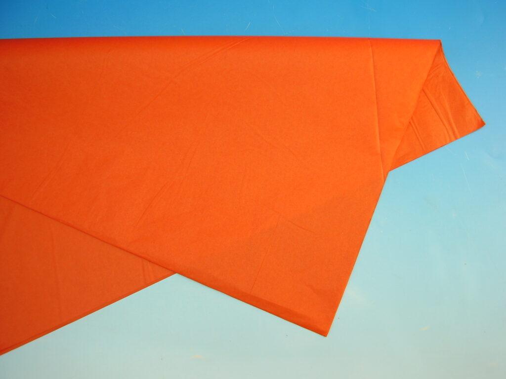 Papír hedvábný ORANŽOVÝ 50x70cm, 19g, ARCH, 870420