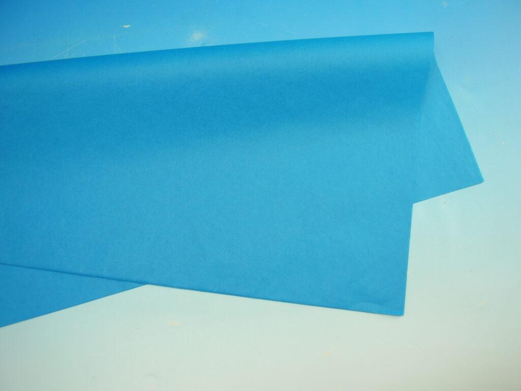 Papír hedvábný MODRÁ 50x70cm, 19g, ARCH, 870450
