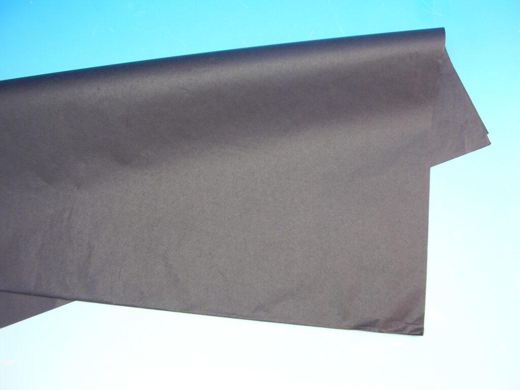 Papír hedvábný ČERNÁ 50x70cm, 19g, ARCH, 870471