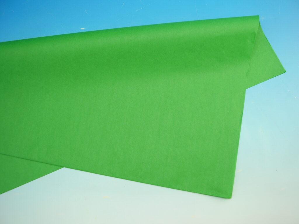 Papír hedvábný  ZELENÝ 50x70cm, 19g, ARCH, 870462