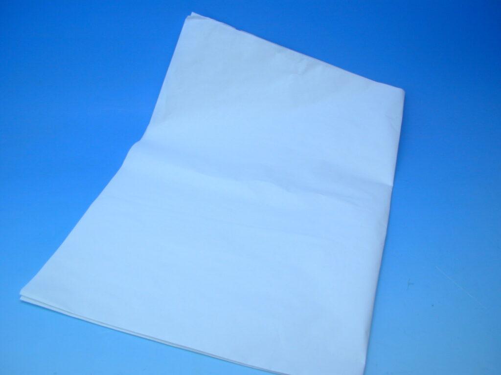 Papír hedvábný BÍLÝ 70x100 30g  balíkový - Albíno