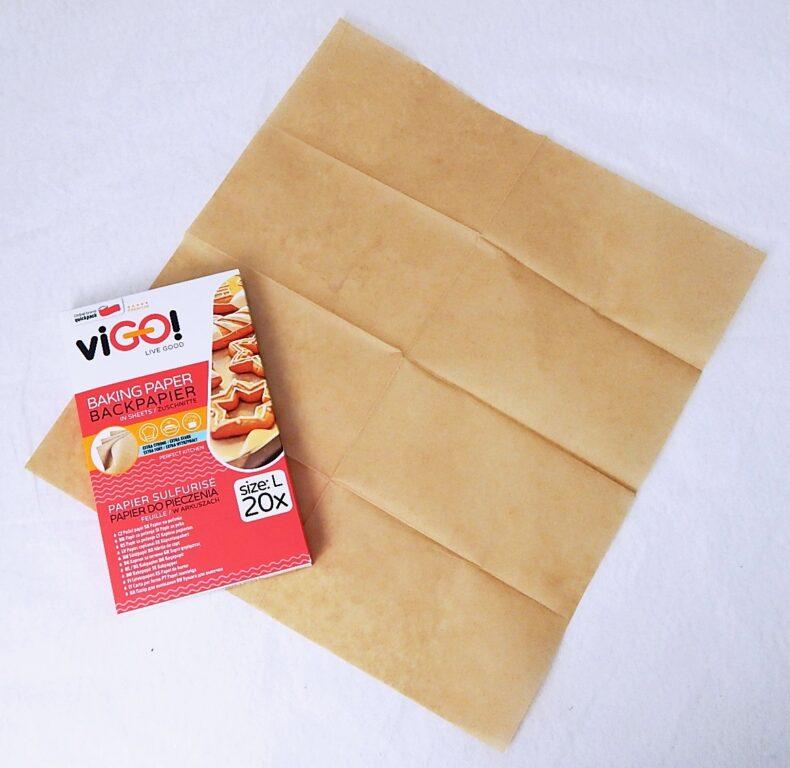 Papír pečící 38x42cm/20ks arch  viGO  ( 7533384 )