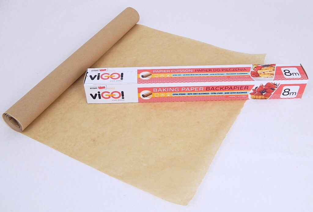 Papír pečící 38cm/8m, odtrhávací role viGO