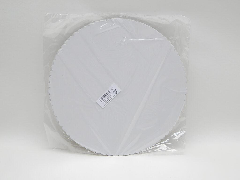 Podložka pod dort 27,5 cm, 10 ks