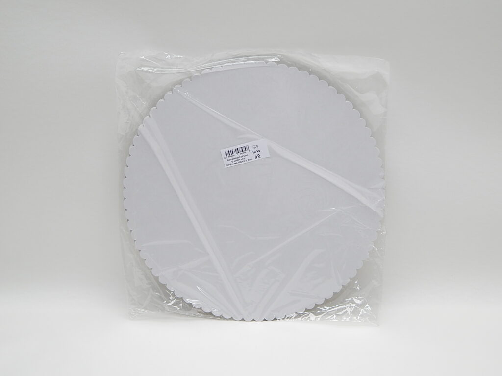 Podložka pod dort 29,5 cm, 10 ks