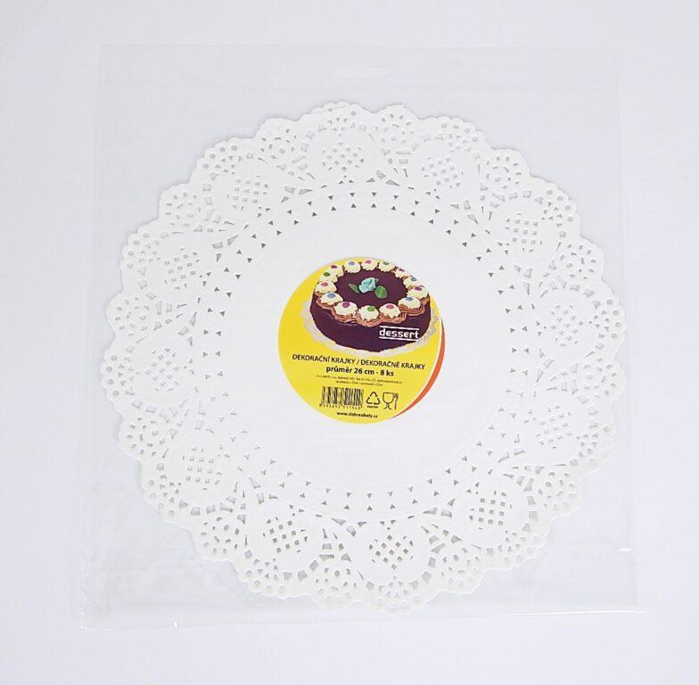 Krajka Dessert pr.26 / 8 ks / 2511540