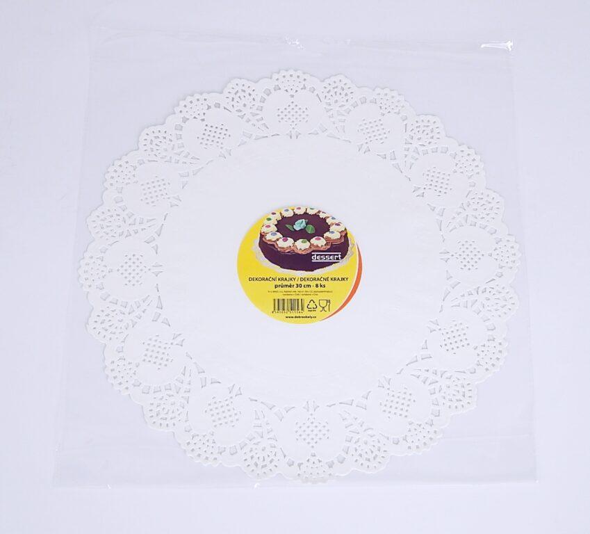Krajka Dessert pr. 30 cm / 8 ks / 2511564