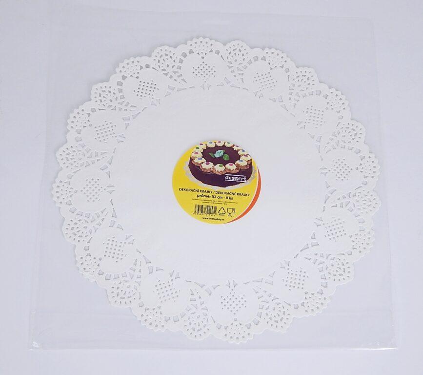 Krajka Dessert pr. 32 cm / 8 ks / 2511571