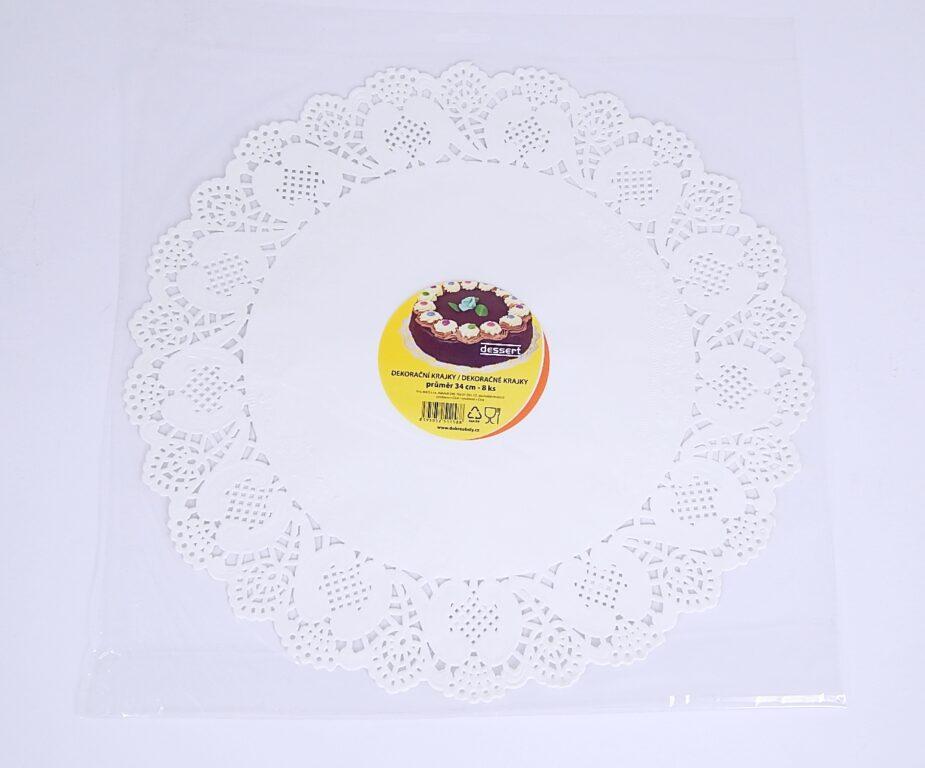 Krajka Dessert pr. 34 cm / 8 ks / 2511588