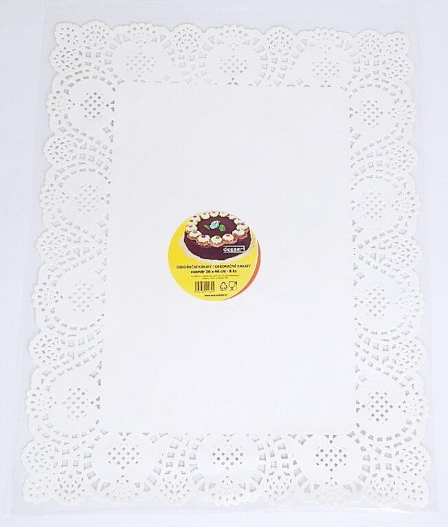 Krajka Dessert 36x46 / 8 cm / 2511625