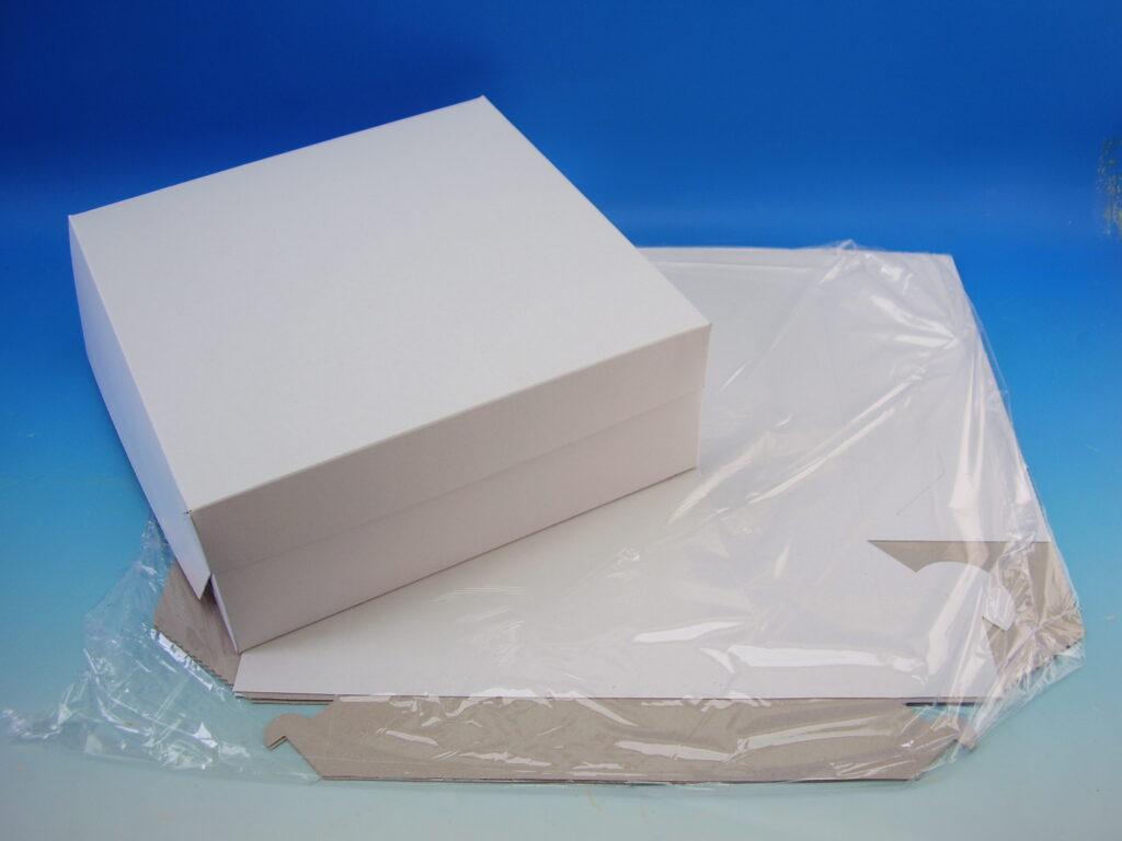 Krabice dortová 300x300x105mm, 3ks