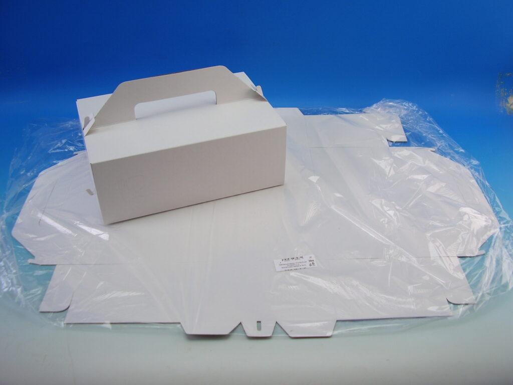 Krabice zákusková 270x180x100mm, 3ks