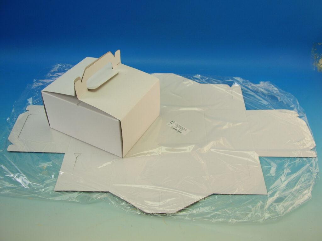 Krabice výslužková 185x150x95mm, 3ks